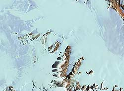 Darwin Glacier (joins below)